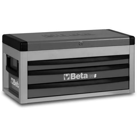 Beta Tools 2200 S/MTAS 3 Drawer Tool Chest C22S + 99PCS-Tool Chest-Beta-Tools-Grey C22S + 99PCS-Torque Toolboxes