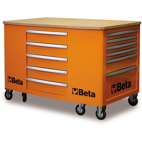 Beta Tools 28 Drawer Mobile Workstation C31-Work Station-Beta-Tools-Torque Toolboxes