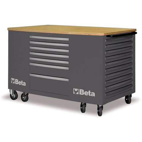 Beta Tools 28 Drawer Mobile Workstation C31-Work Station-Beta-Tools-Grey C31-Torque Toolboxes