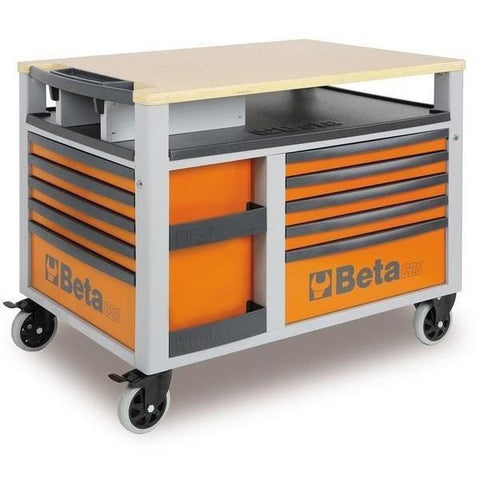 Beta Tools 2800 O/VG2T Super Tank Roller Cabinet C28 O + 212 PCS-Roller Cabinet-Beta-Tools-Orange C28 + 212 PCS-Torque Toolboxes