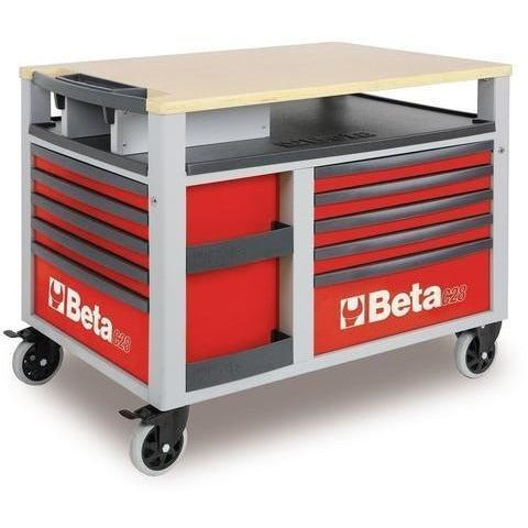 Beta Tools 2800 O/VI2T Super Tank Roller Cabinet C28 O + 232 PCS-Roller Cabinet-Beta-Tools-Red C28 + 232 PCS-Torque Toolboxes