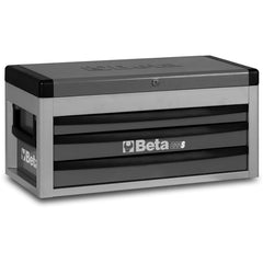 Beta Tools - 3-Drawer, Tool Chest - C22S-Tool Chest-Beta Tools-Grey-Torque Toolboxes