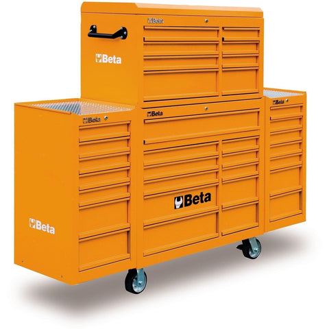 Beta Tools - 33-Drawer Roller Cabinet - C38C-Roller Cabinet-Beta Tools-Orange-Torque Toolboxes