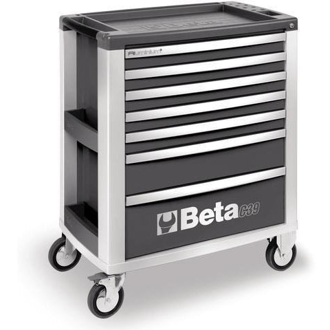 Beta Tools 3900 O-7/VU2M Roller Cabinet C39/7 + 152PCS-Roller Cabinet-Beta-Tools-Grey C39/7 + 152PCS-Torque Toolboxes