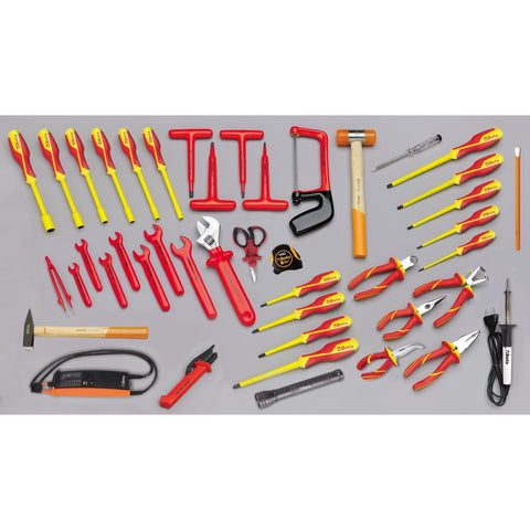 Beta Tools - 46pc. Electrical Tool Set - 5980/MQ (for 2029VV)-Tool Set-Beta Tools-Torque Toolboxes