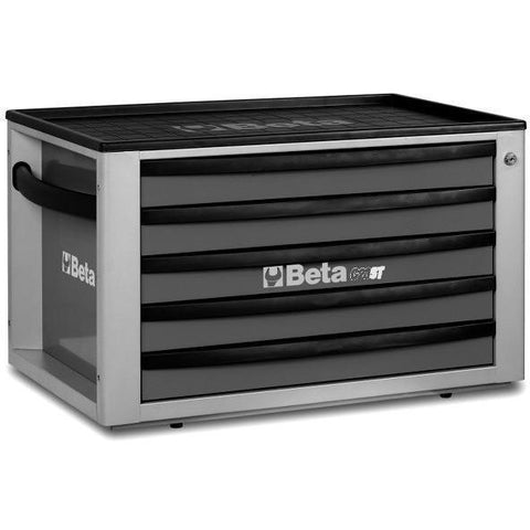 Beta Tools - 5-Drawer, Tool Chest - C23ST-Tool Chest-Beta Tools-Grey-Torque Toolboxes