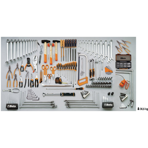 Beta Tools 5700 A/VG MasterCargo Workbench C57S A + 189 PCS-Workbench-Beta-Tools-Torque Toolboxes