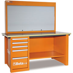 Beta Tools 5700 A/VG MasterCargo Workbench C57S A + 189 PCS-Workbench-Beta-Tools-Orange C57S A + 189 PCS-Torque Toolboxes