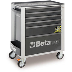 Beta Tools - 6-Drawer, Anti-Tilt, Roller Cabinet - C24SA/6