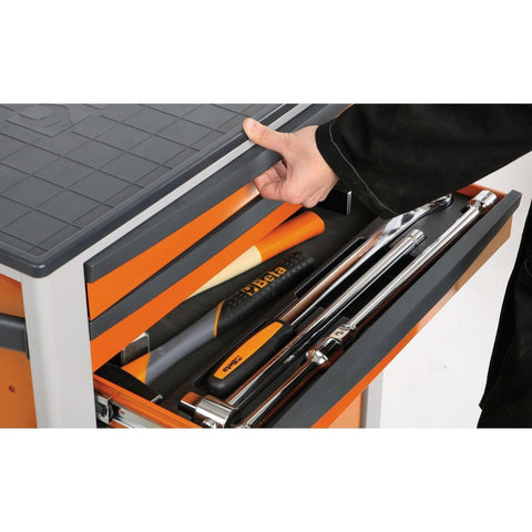 Beta Tools - 7-Drawer, Anti-Tilt, Roller Cabinet - C24SA/7-Roller Cabinet-Beta Tools-Torque Toolboxes