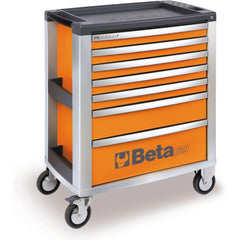 Beta Tools - 7-Drawer, Roller Cabinet - C39-7-Roller Cabinet-Beta Tools-Orange-Torque Toolboxes