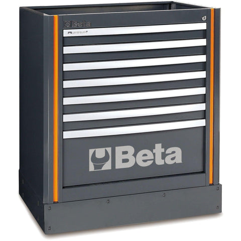 Beta Tools - 7-Drawer Tool Cabinet- C55M7 [RSC55]-Garage Storage-Beta Tools-Torque Toolboxes