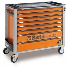 Beta Tools - 8-Drawer, Anti-Tilt, Roller Cabinet, Long - C24SA-XL/8