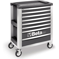 Beta Tools - 8-Drawer, Roller Cabinet - C39-8-Roller Cabinet-Beta Tools-Grey-Torque Toolboxes