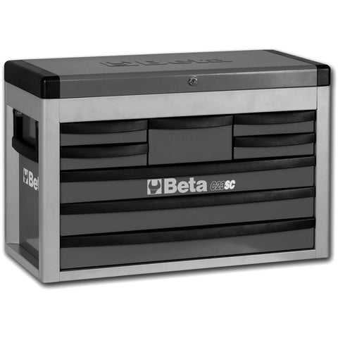 Beta Tools - 8-Drawer, Tool Chest - C23SC-Tool Chest-Beta Tools-Grey-Torque Toolboxes
