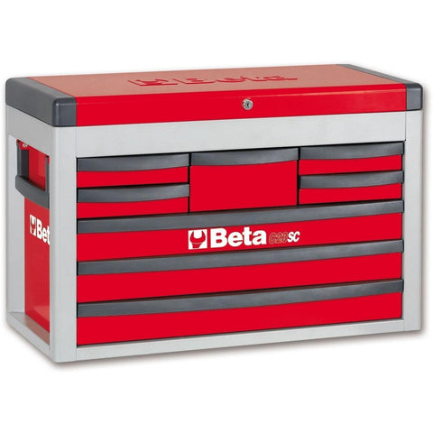 Beta Tools - 8-Drawer, Tool Chest - C23SC-Tool Chest-Beta Tools-Red-Torque Toolboxes