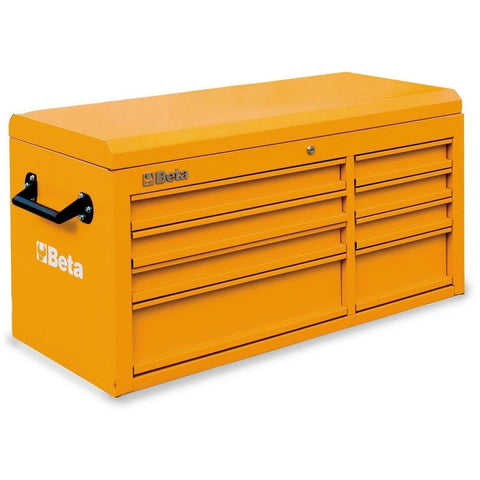 Beta Tools - 8-Drawer, Tool Chest - C38T-Tool Chest-Beta Tools-Orange-Torque Toolboxes