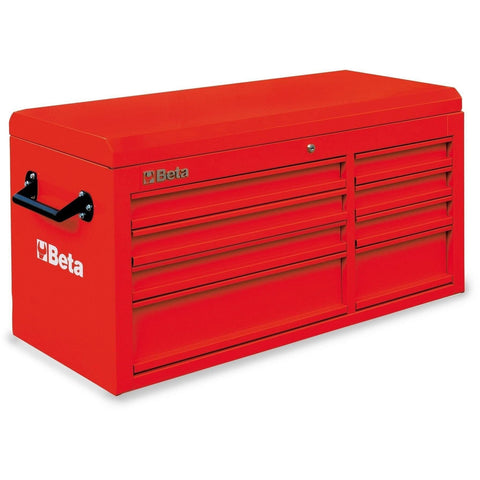 Beta Tools - 8-Drawer, Tool Chest - C38T-Tool Chest-Beta Tools-Red-Torque Toolboxes
