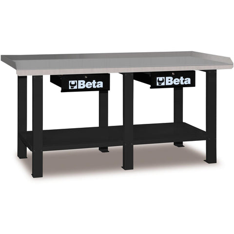 Beta Tools - All Steel Top, Workbench - C56-Workbench-Beta Tools-Grey-Torque Toolboxes