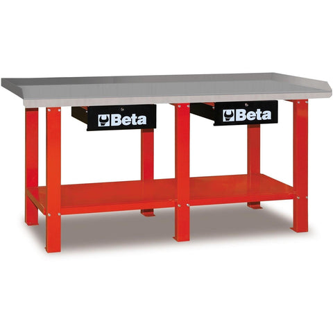 Beta Tools - All Steel Top, Workbench - C56-Workbench-Beta Tools-Red-Torque Toolboxes