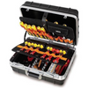 Image of Beta Tools - Aluminum-Edged Tool Case - 2029/VV-Portable-Beta Tools-Tool Case + 46pc. Tool Set-Torque Toolboxes