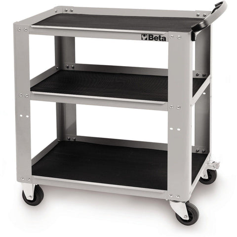 Beta Tools - Easy Tool Trolley - C51-Tool Trolley-Beta Tools-Grey-Torque Toolboxes