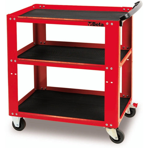 Beta Tools - Easy Tool Trolley - C51-Tool Trolley-Beta Tools-Red-Torque Toolboxes