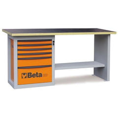 Beta Tools - Endurance™ - 6-Drawer, Workbench - C59A-Workbench-Beta Tools-Orange-Torque Toolboxes