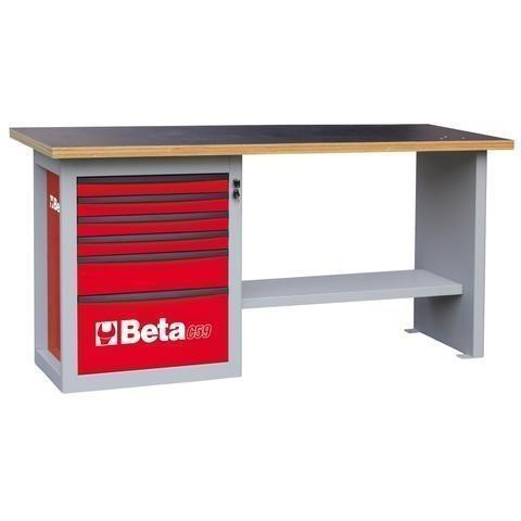 Beta Tools - Endurance™ - 6-Drawer, Workbench - C59A-Workbench-Beta Tools-Red-Torque Toolboxes