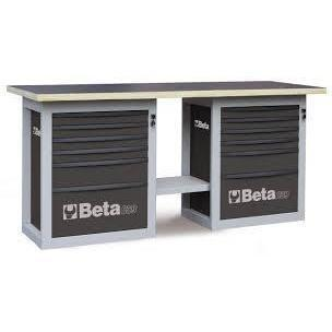 Beta Tools - Endurance™ - 6-Drawer, WorkBench - C59B-Workbench-Beta Tools-Grey-Torque Toolboxes
