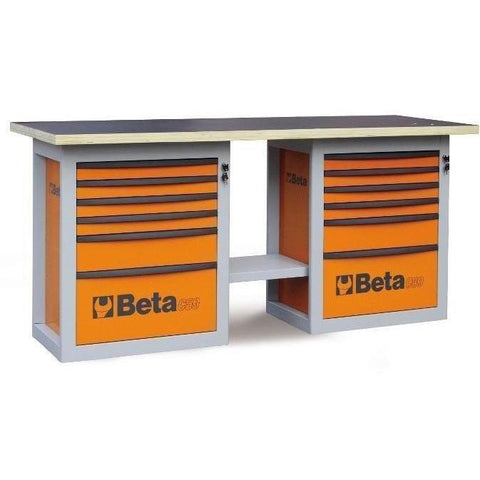 Beta Tools - Endurance™ - 6-Drawer, WorkBench - C59B-Workbench-Beta Tools-Orange-Torque Toolboxes