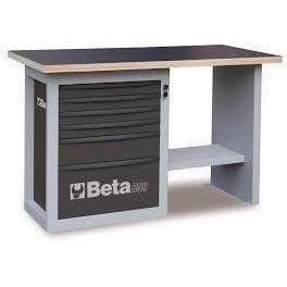 Beta Tools - Endurance™ - 6-Drawer, Workbench- C59C-Workbench-Beta Tools-Grey-Torque Toolboxes