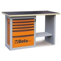 Beta Tools - Endurance™ - 6-Drawer, Workbench- C59C-Workbench-Beta Tools-Orange-Torque Toolboxes