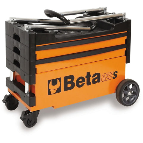Beta Tools Folding Tool Trolley C27S-Tool Trolley-Beta-Tools-Torque Toolboxes