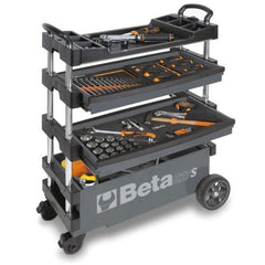 Beta Tools - Folding Tool Trolley - C27S