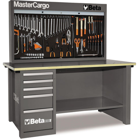 Beta Tools - MasterCargo™ - Workbench - C57S/A-Workbench-Beta Tools-Grey-Torque Toolboxes