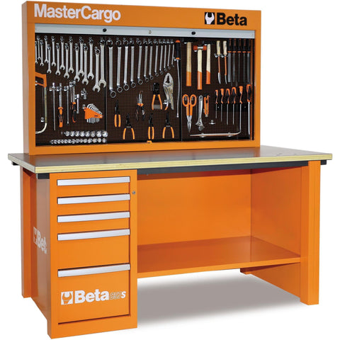 Beta Tools - MasterCargo™ - Workbench - C57S/A-Workbench-Beta Tools-Orange-Torque Toolboxes