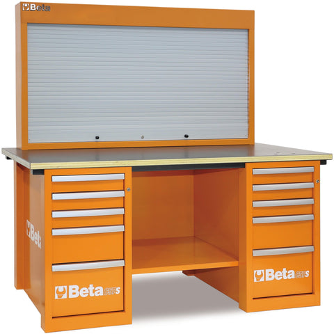 Beta Tools - MasterCargo™ - Workbench - C57S/B-Workbench-Beta Tools-Orange-Torque Toolboxes