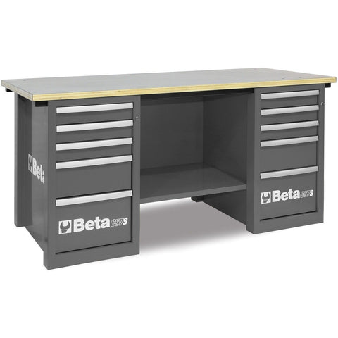 Beta Tools - MasterCargo™ - Workbench - C57S/C-Workbench-Beta Tools-Grey-Torque Toolboxes