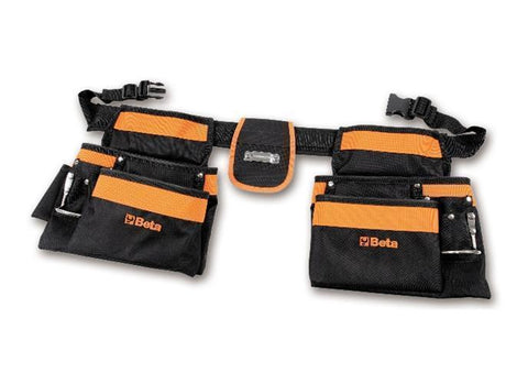 Beta Tools - Nylon Tool Pouch + Belt - 2005PA/D-Portable-Beta Tools-Torque Toolboxes