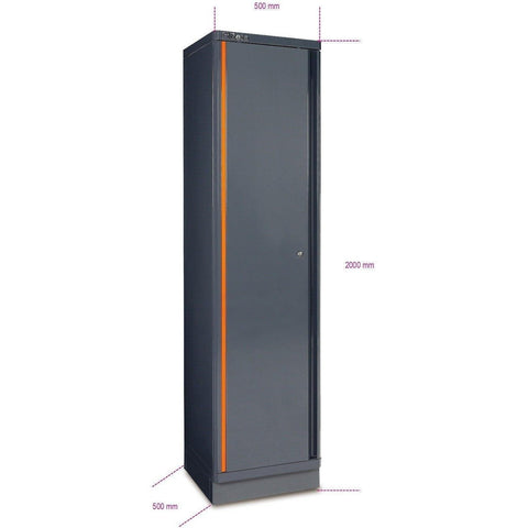 Beta Tools - Single-Door Tool Cabinet - C55A1 [RSC55]-Garage Storage-Beta Tools-Torque Toolboxes