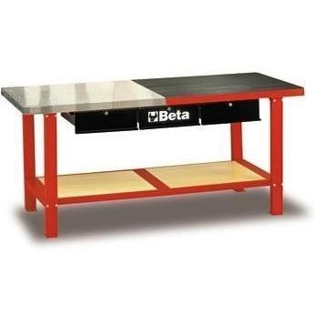 Beta Tools - Slip-Proof Top, Workbench - C56M-Workbench-Beta Tools-RED-Torque Toolboxes