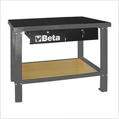 Beta Tools - Slip-Proof Top, Workbench - C58M-Workbench-Beta Tools-Grey-Torque Toolboxes