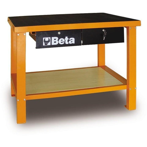 Beta Tools - Slip-Proof Top, Workbench - C58M-Workbench-Beta Tools-Orange-Torque Toolboxes