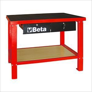 Beta Tools - Slip-Proof Top, Workbench - C58M-Workbench-Beta Tools-Red-Torque Toolboxes