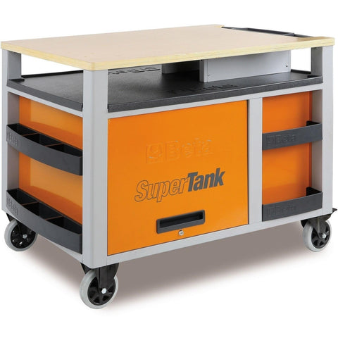 Beta Tools - Super Tank - 10-Drawer, Roller Cabinet - C28-Roller Cabinet-Beta Tools-Torque Toolboxes