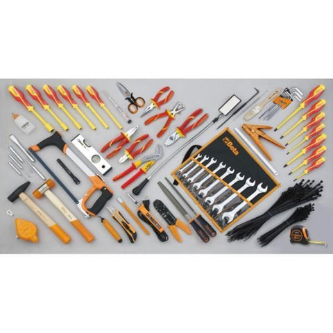 Beta Tools - Tool Case + 46pc. Electrical Tool Set - 2029BG MQ-Portable-Beta Tools-Torque Toolboxes