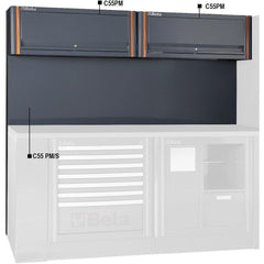 Beta Tools - Tool Panel with Suspended Cabinets - C55/2PM [RSC55]-Garage Storage-Beta Tools-Torque Toolboxes