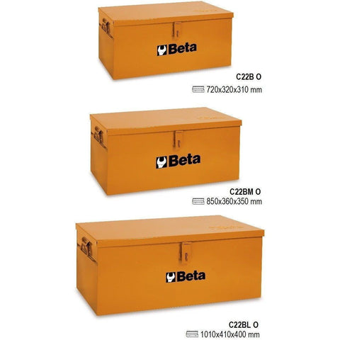 Beta Tools - Tool Trunk, Orange - C22B-Tool Cabinet-Beta Tools-Torque Toolboxes