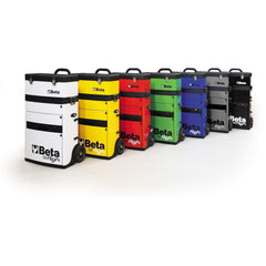 Image of Beta Tools - Two-Module Tool Trolley - C41H - Multiple Colors